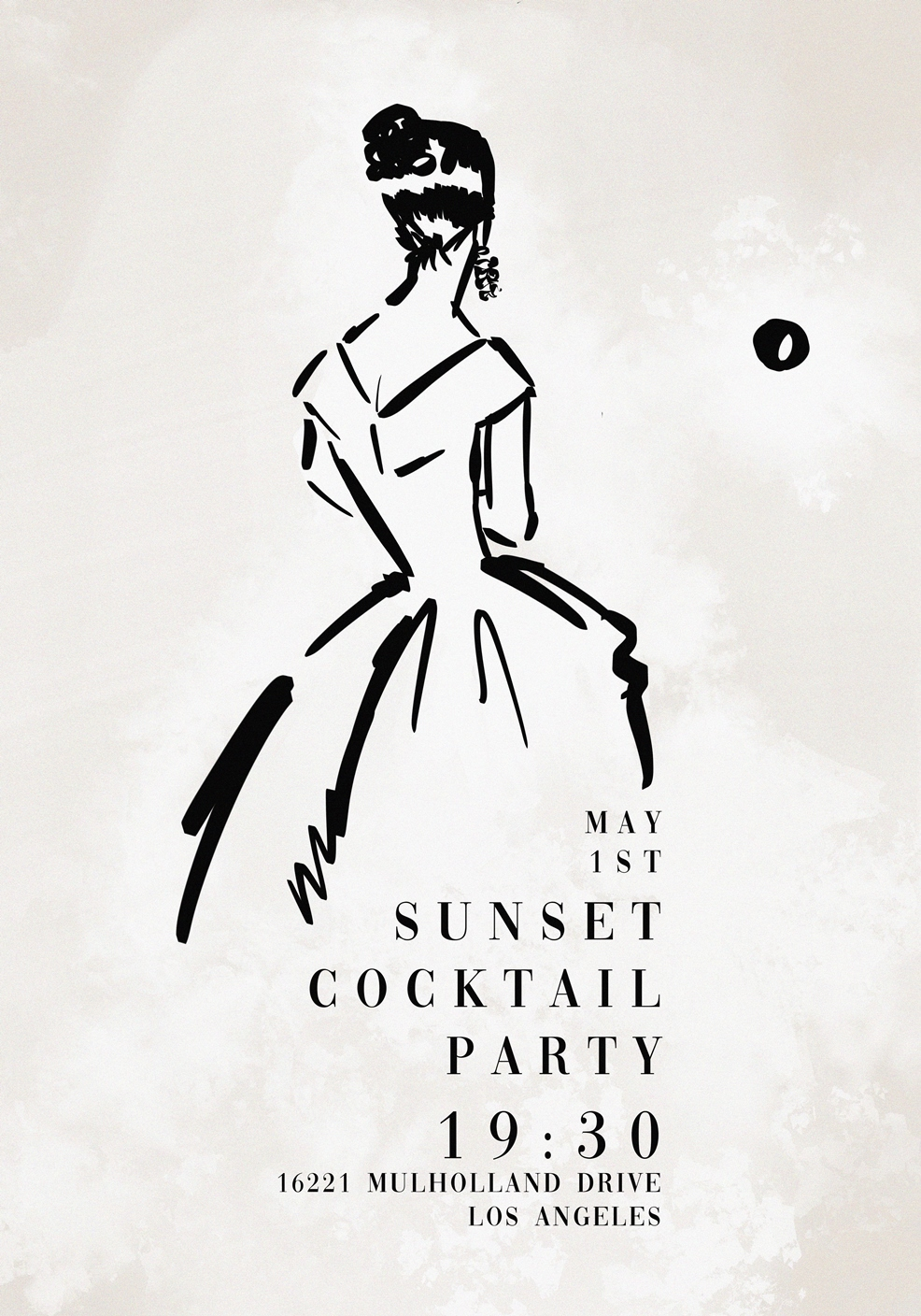 sunset cocktail party